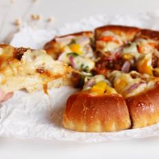 彩蔬牛肉披萨