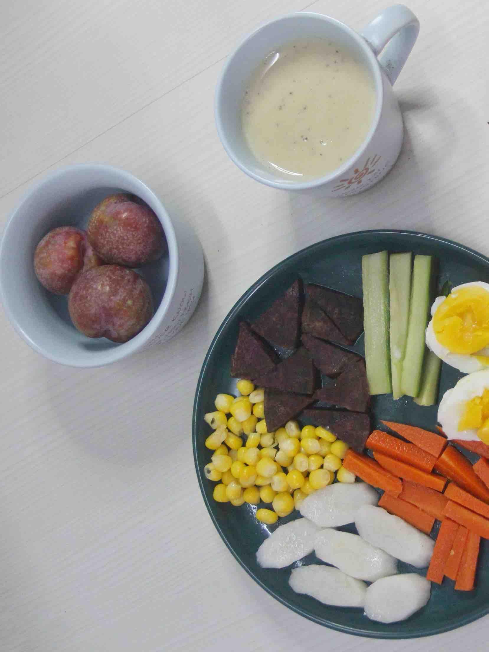 健康的减脂餐 营养丰富早餐