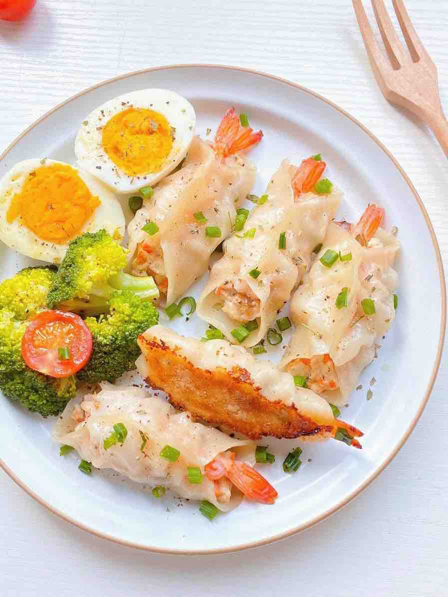 家庭版|鲜虾饺子的做法