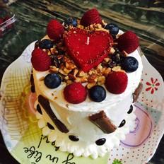自制手工生日蛋糕