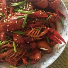 香甜辣酱小龙虾