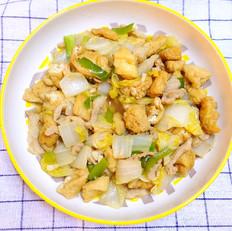 油豆腐娃娃菜炒肉