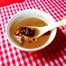 红豆小米燕麦红枣粥