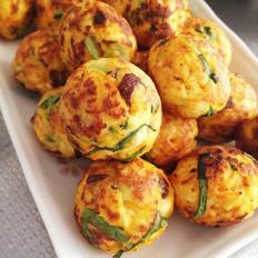 烤豆腐蔬菜丸子