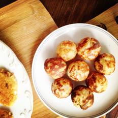 土豆鹌鹑蛋烤丸子(章鱼烧电烤板)
