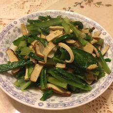 香干油麦菜