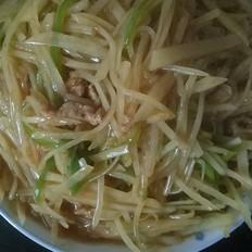 菜椒炒土豆丝