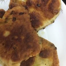 鸡肉芽菜葱油饼