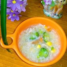 香菇玉米胡萝卜瘦肉粥