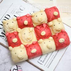 粉粉猪挤挤面包