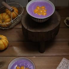 紫薯南瓜小圆子