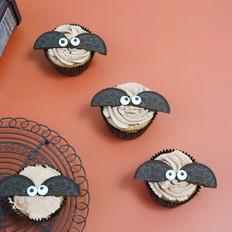 蝙蝠纸杯蛋糕的做法
