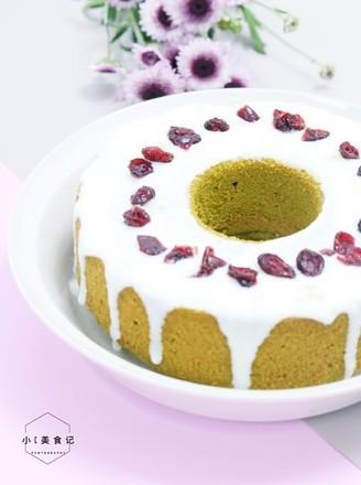蔓越莓酸奶蛋糕的做法