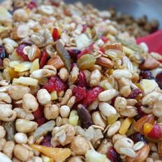 水果谷物能量麦片