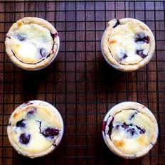 蓝莓乳酪塔