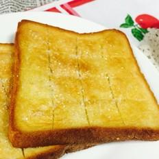 香烤厚片土司面包片的做法