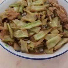 酱香五花肉炒豆角