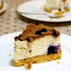 酥梨蓝莓乳酪蛋糕