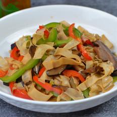 笋衣香菇炒菜