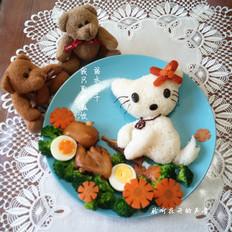 小猫咪儿童趣味餐