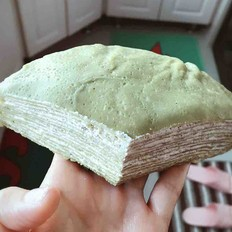 抹茶千层蛋糕