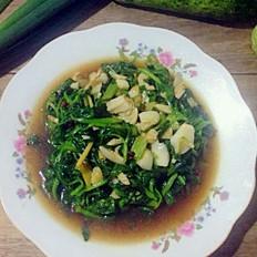 爆炒小油菜