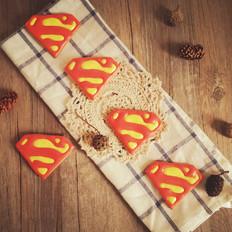 超人糖霜饼干
