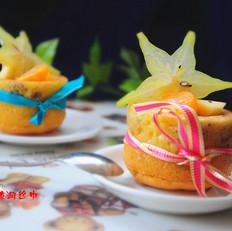 核桃水果蛋糕