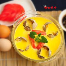 番茄花蛤蒸蛋