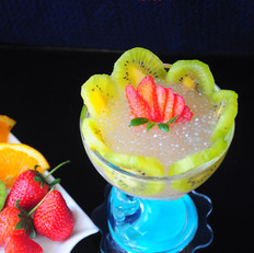 西米水果甜品