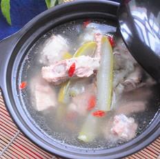 夏季清汤-排骨瓠瓜汤