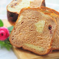 巧克力蔓越莓辫子面包