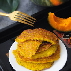 南瓜双米饼