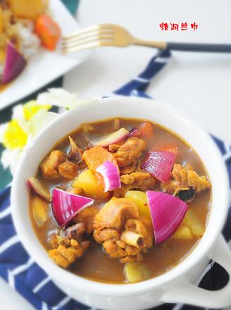 咖喱三黄鸡的做法