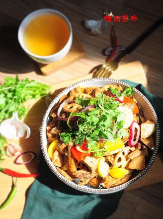 干锅三黄鸡的做法