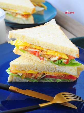 金槍魚三明治的做法