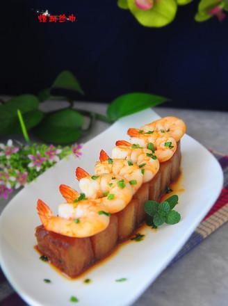 营养,减肥,利尿的大虾烧冬瓜