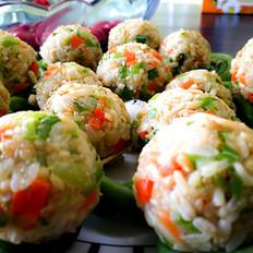 边吃变瘦的益藜米饭团
