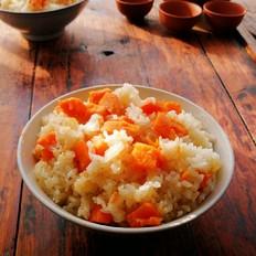 做香甜软糯的红薯糯米饭