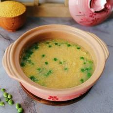 超简单零失败,软糯香甜的莲子豌豆小米粥