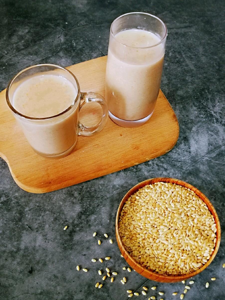 健脑益智㊙️核桃燕麦豆浆的做法