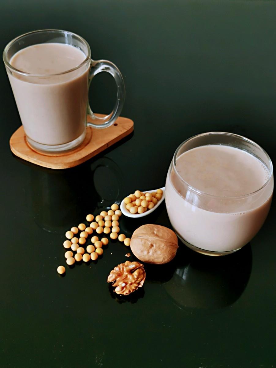 燕麦核桃米浆