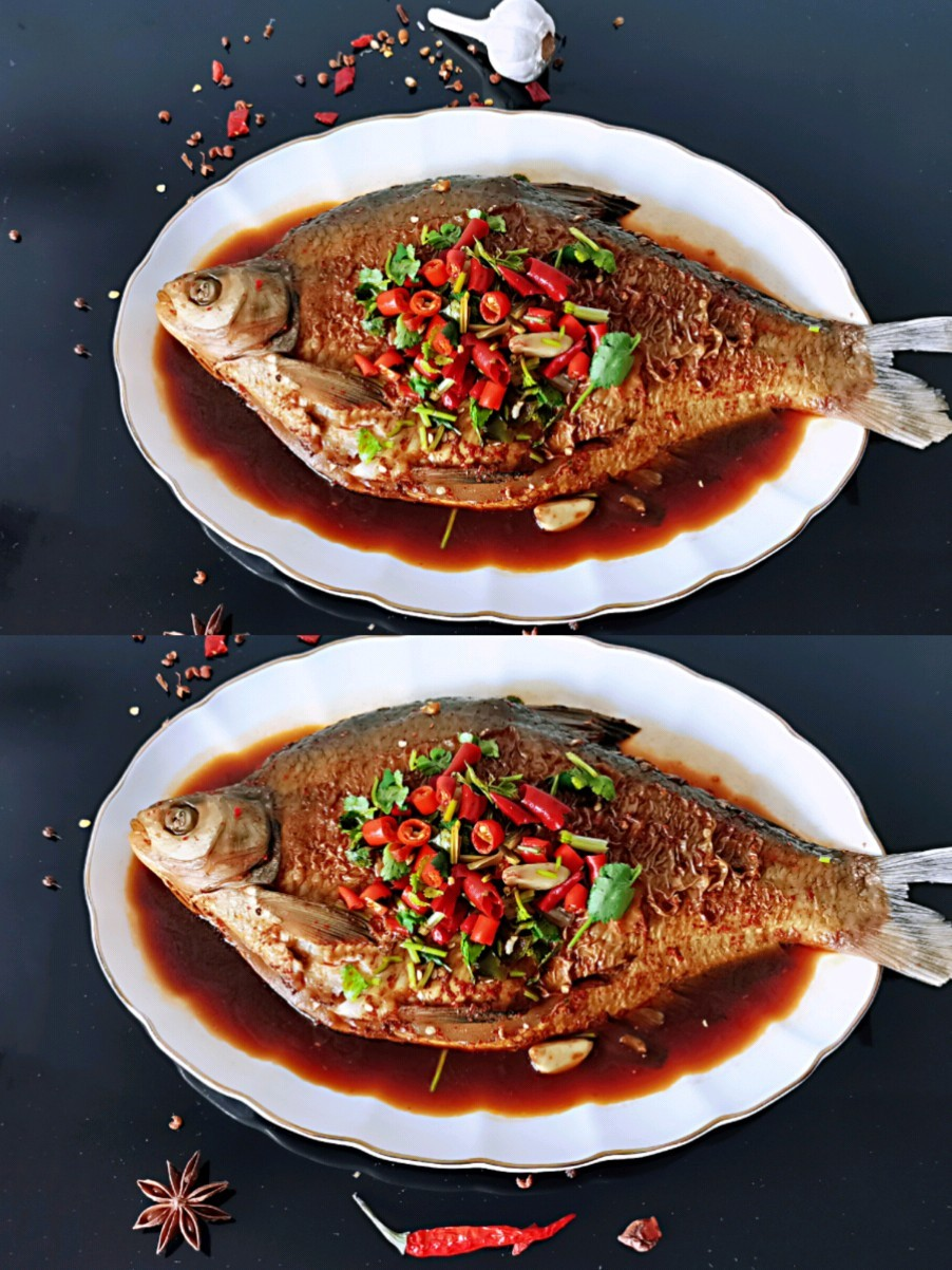 ㊙️无敌好吃的红烧鳊鱼的做法