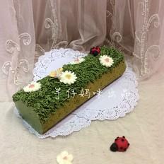 春意盎然蛋糕卷