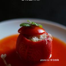 番茄盅焗饭