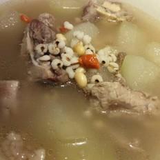 冬瓜龙骨薏仁汤