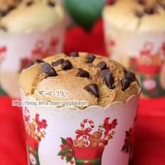 咖啡圣诞纸杯蛋糕