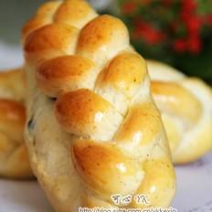 全麦葡萄干3股辫包(中种)