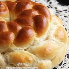 草帽辫子面包