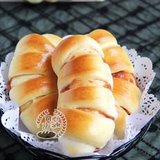 超级柔软的山楂果酱小餐包(中种)